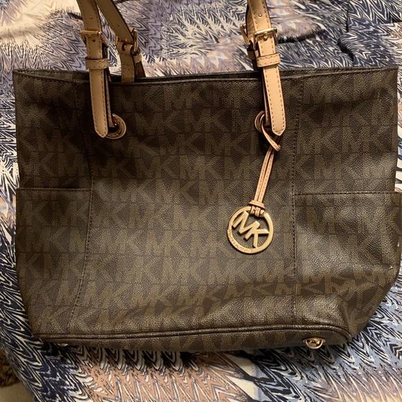 MICHAEL Michael Kors Handbags - Brown MK logo bag